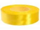Saténová stuha - 25mm - slnečnicová žltá