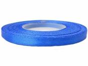 Saténová stuha - 6mm - modrá