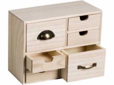 Drevená komoda - 6 šuflíkov