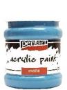 Akrylová farba matná - 230 ml - svetlá modrá