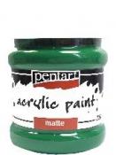 Akrylová farba matná - 230 ml - zelená