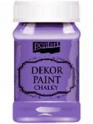 Akrylová vintage farba Dekor Paint - 100 ml - biskupská fialová