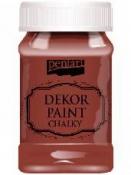 Akrylová vintage farba Dekor Paint - 100 ml - gaštanová