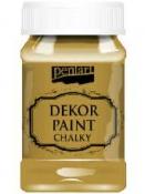 Akrylová vintage farba Dekor Paint - 100 ml - horčicová
