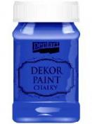 Akrylová vintage farba Dekor Paint - 100 ml - modrá