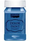 Akrylová vintage farba Dekor Paint - 100 ml - oceľová modrá