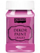 Akrylová vintage farba Dekor Paint - 100 ml - purpurová