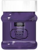 Akrylová vintage farba Dekor Paint - 230 ml - baklažánová