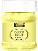 Akrylová vintage farba Dekor Paint - 230 ml - citrónová žltá