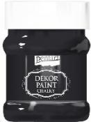 Akrylová vintage farba Dekor Paint - 230 ml - ebenová čierna