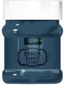 Akrylová vintage farba Dekor Paint - 230 ml - námornícka modrá
