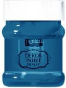 Akrylová vintage farba Dekor Paint - 230 ml - oceľová modrá