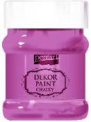 Akrylová vintage farba Dekor Paint - 230 ml - purpurová