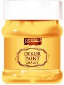 Akrylová vintage farba Dekor Paint - 230 ml - slnečnicová žltá