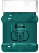 Akrylová vintage farba Dekor Paint - 230 ml - smaragdová