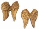 Anjelské krídla 2,5 cm - antické zlaté