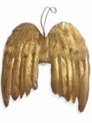 Anjelské krídla 16 cm - antické zlaté