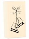 Drevená pečiatka - korčule