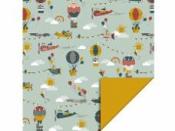 Baliaci papier 70 cm x 3 m - detský svet