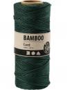 Bambusový špagát 1 mm 65 m - zelený