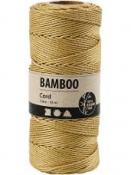 Bambusový špagát 1 mm 65 m - hnedozlatý