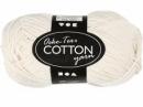 Priadza 100% bavlna - krémová
