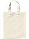 Detská bavlnená taška 24x28cm - krátke rúčky