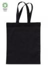 Bavlnená taška 24x28cm - čierna
