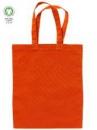 Bavlnená taška 24x28cm - mrkvová červená