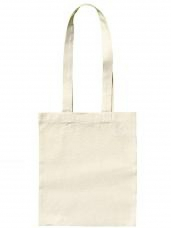 Detská bavlnená taška 24x28 cm - dlhé rúčky