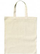 Bavlnená taška 42x38cm - krátke rúčky