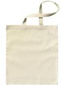 Bavlnená taška 42x38cm - dlhé rúčky