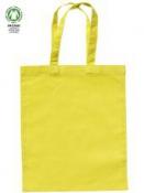 Bavlnená taška 24x28cm - limetková