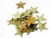 Hviezdy z brezovej kôry 3cm - 10ks - prírodné