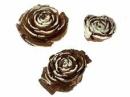 Cédrové ruže 3 ks - zasnežené