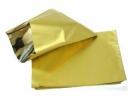 Lesklé celofánové vrecúško -  sáčok 15x23cm - zlaté