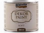Akrylová vintage farba Dekor Paint - 500 ml - ebenová čierna