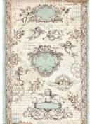 Ryžový papier A4 - anjeli a cherubíni