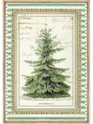 Ryžový papier A4 - vianočný stromček