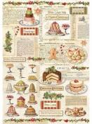 Ryžový papier A4 - vianočné pečivo