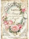 Ryžový papier A4 - Cafés