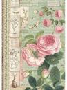 Ryžový papier A4 - anglická ruža