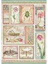 Ryžový papier A4 - Botanic Cards