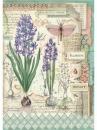 Ryžový papier A4 - Hyacinty
