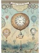 Ryžový papier A4 - Bon Voyage