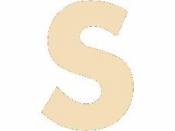 Drevené písmeno - 45 mm - S
