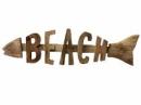 Dekorácia drevená šípka Beach 65 cm