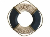 Dekorácia drevené záchranárske koleso 38 cm