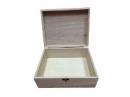 Drevená krabica 21,5 x 16,3 x 8,3 cm
