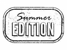 Drevená pečiatka - Summer EDITION